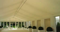 Large event marquee with airconditioning