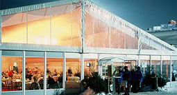 Winter Wonderland event -marquees for all weather and all seasons