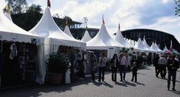 5 meter chinese hat conical tents - event stands
