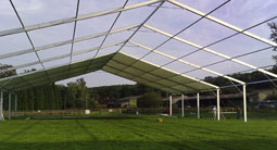 Clearspan Frame structure for large marquees