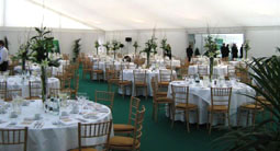 Corporate hospitality marquee